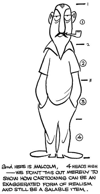 taller cartoon figures