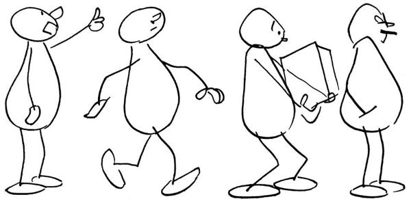How to draw cartoon bodies