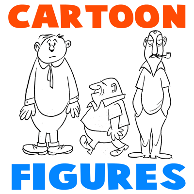 How To Draw Cartoon Figures Bodies In Easy Steps How To Draw