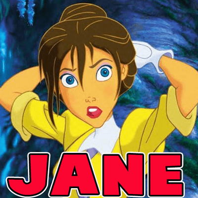 How to Draw Jane from Disney's Tarzan with Easy Step by Step Tutorial