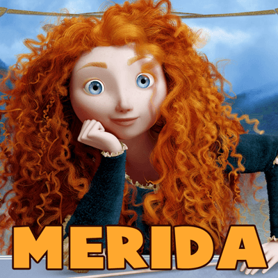 How to Draw Merida from Brave Step by Step Drawing Tutorial