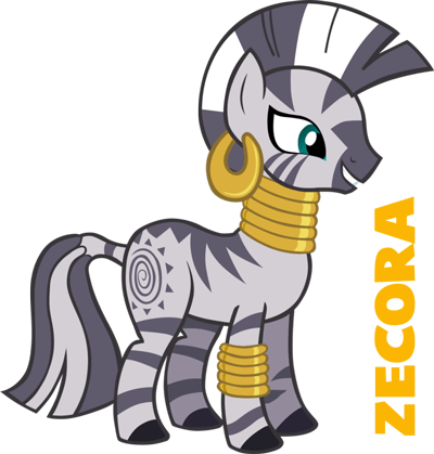 how to draw zecora from my little pony with easy step by step