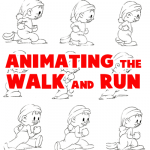 How to Animate Walking and Running Step by Step Illustrations