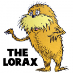 How to Draw The Lorax by Dr. Seuss with Step by Step Drawing Tutorial