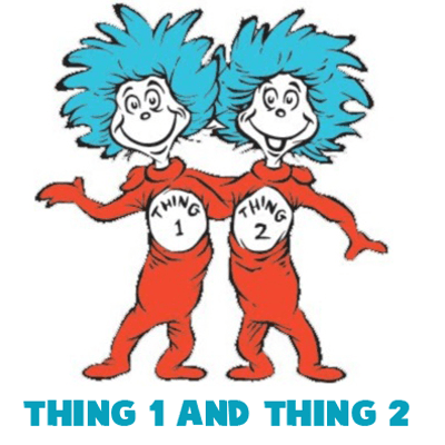 65ee9a2ce84 How to Draw Thing One and Thing Two from Dr. Seuss The Cat in the ...