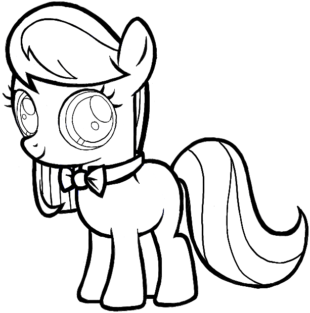 How to draw octavia from my little pony in easy step by step drawing tutorial