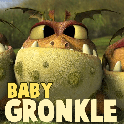 How to Draw Baby Gronkle from How to Train Your Dragon 2 in Easy Steps Tutorial