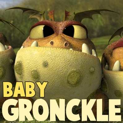 How to Draw Baby Gronckle from How to Train Your Dragon 2 Step by Step Drawing Lesson