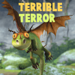 How to Draw Terrible Terror from How to Train Your Dragon in Easy Steps