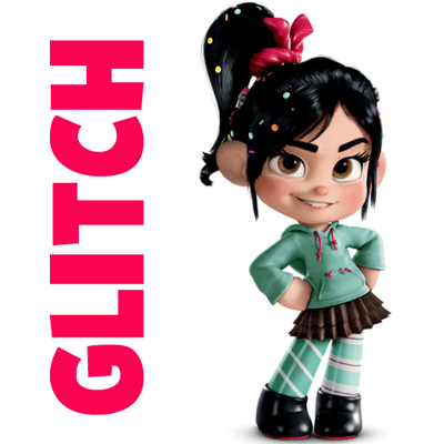 Drawing Vanellope Von Schweetz or Glitch from Wreck it Ralph Easy Step by Step Drawing Tutorial
