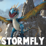 How to Draw Stormfly the Deadly Nadder Dragon from How to Train Your Dragon 1 and 2 Step by Step Drawing Tutorial