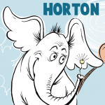 How to Draw Horton Hears a Who from Dr. Seuss