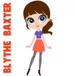 how to draw blythe baxter main character from littlest pet shop tutorial