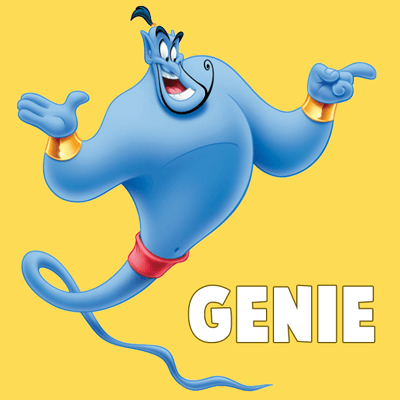 How To Draw The Genie From Disneys Aladdin Step By Drawing Tutorial