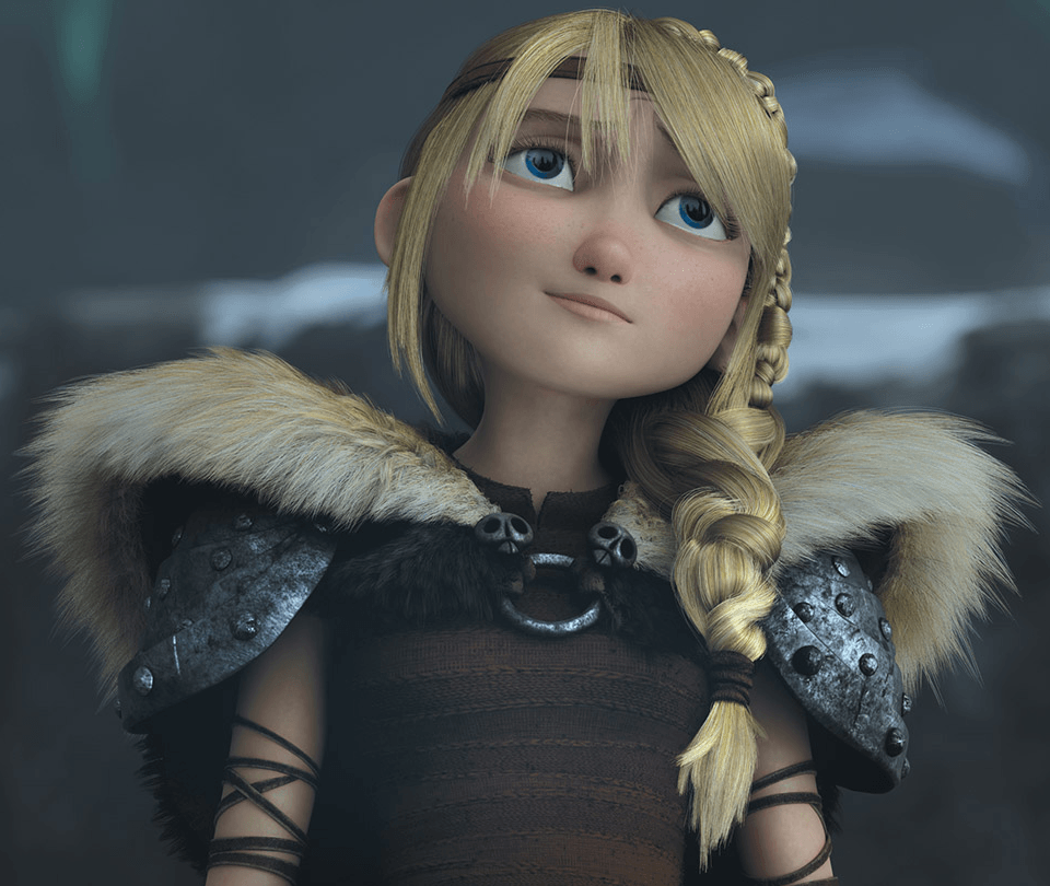 How To Draw Astrid From How To Train Your Dragon 2 In