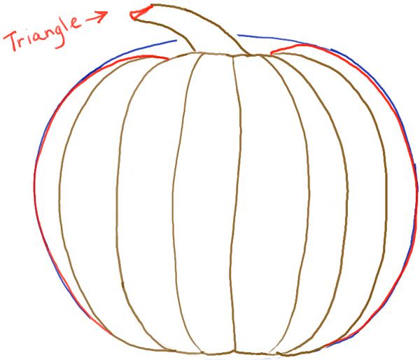 pumpkin drawing. step05-pumpkin pumpkin drawing