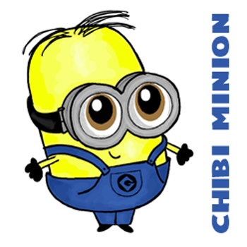 How to Draw Chibi Baby Minions from Despicable Me in Easy Steps Lesson