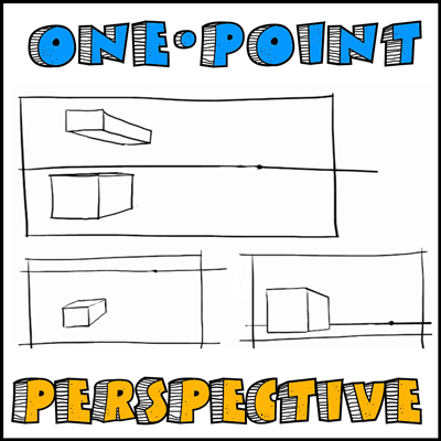 Lessons in One Point Perspective Drawing - A Guide to Creating 3 Dimensional Objects