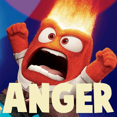 How to Draw Anger from Pixar's Inside Out with Simple Steps Drawing Lesson