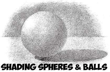 how to shade spheres