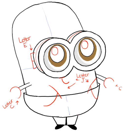 How To Draw Chibi Baby Minions With Easy Step By Step