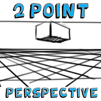 How to Draw in Two Point Perspective : Drawing Guide
