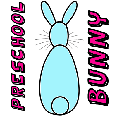 How To Draw An Easy Bunny For Young Kids Toddlers And Preschoolers