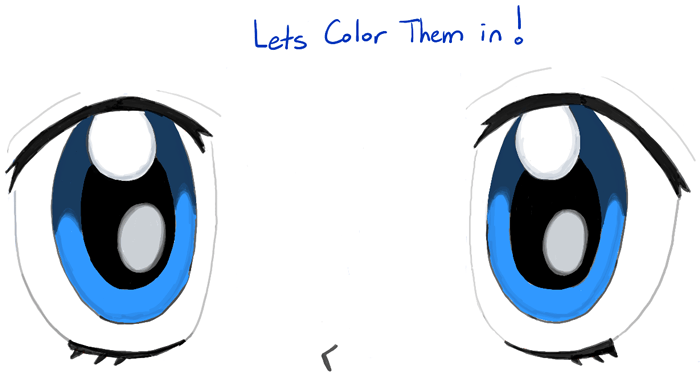 How To Draw Manga Eyes Step By Step Drawing Tutorial