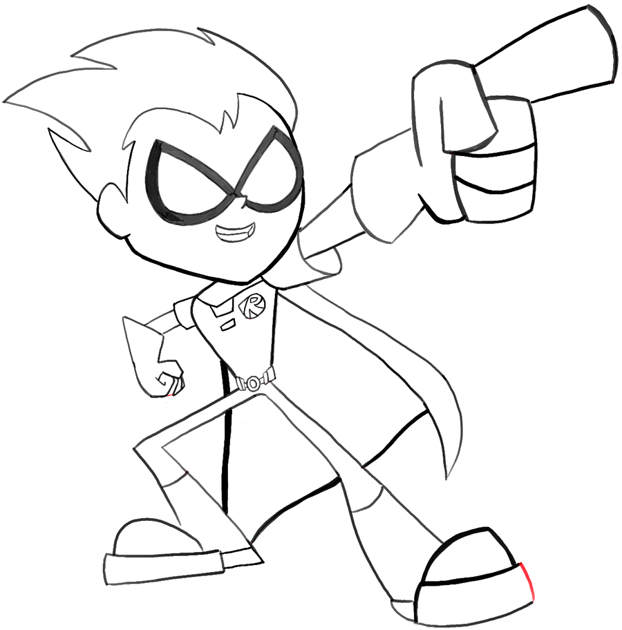 cool robin coloring pages - photo#36