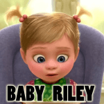 How to Draw Riley as a Baby from Inside Out with Simple Step by Step Drawing Lesson