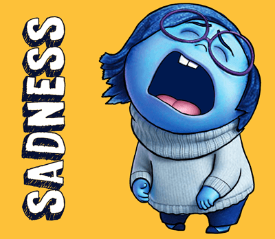 How to Draw Sadness from Inside Out with Simple Steps Drawing Lesson