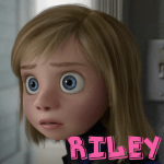 How to Draw Riley from Inside Out with Simple Steps Lesson