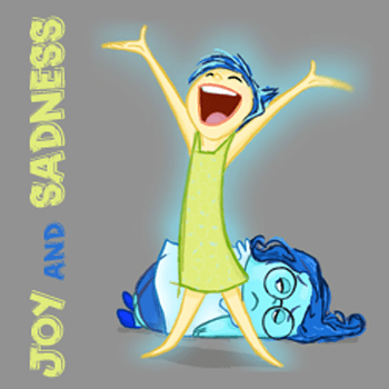 How to Draw Joy and Sadness from Inside Out with Simple Step by Step Drawing Tutorial for Kids