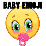How to Draw a Baby Emoji Face Easy Steps Lesson