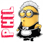 How to Draw Phil the Minion Dressed up as a Maid from Despicable Me 2