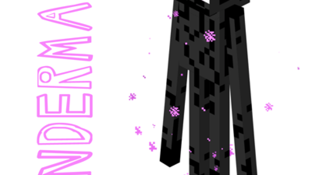 How To Draw Enderman From Minecraft Drawing Tutorial How