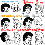 airsupply-A Huge Guide to Drawing Males (Men and Boys) in Various Illustration and Cartoon Styles