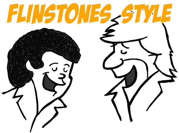 How to Draw Air Supply in Flinstones Jetsons Illustration Style