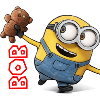 How To Draw Bob The Minion With A Teddy Bear From The Minions Movie