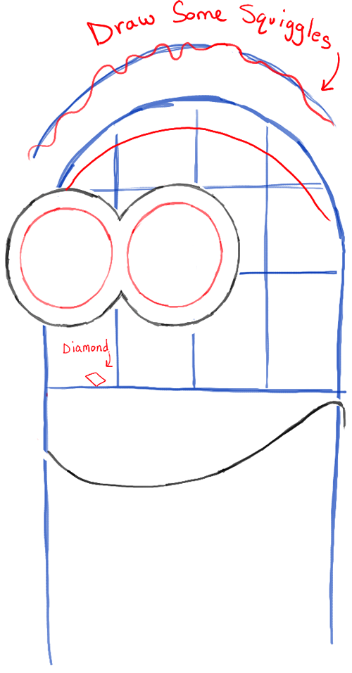 step03-how-to-draw-phil-despicable-me-minion-maid-costume