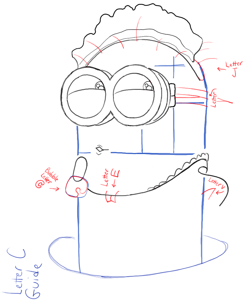 step06-how-to-draw-phil-despicable-me-minion-maid-costume