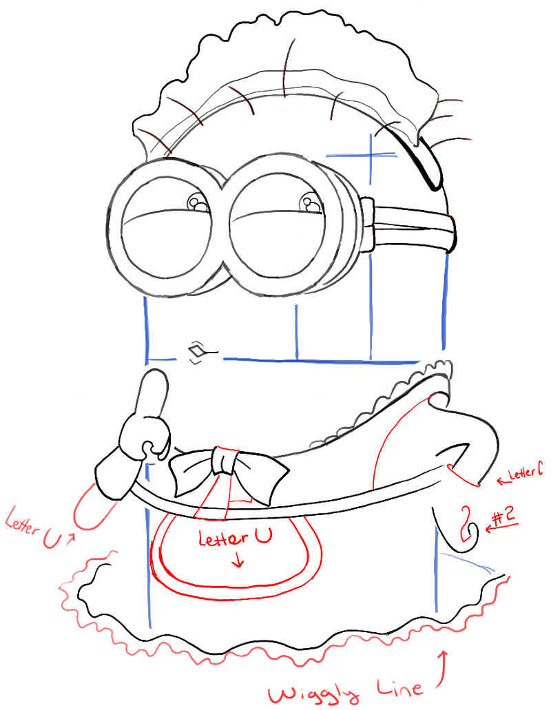 step08-how-to-draw-phil-despicable-me-minion-maid-costume