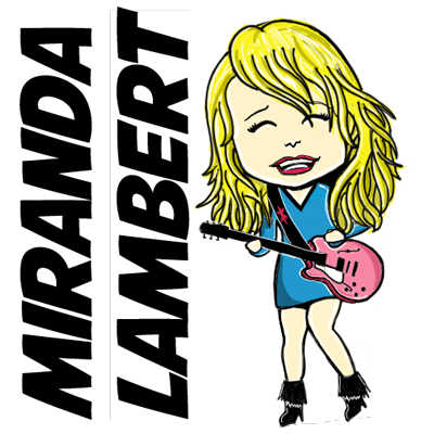 How to Draw Cartoon Chibi Miranda Lambert with Easy Step by Step Drawing Tutorial
