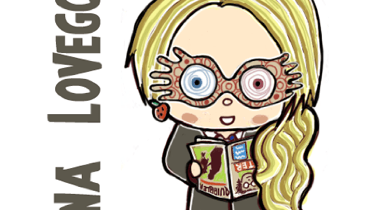 How To Draw Cute Chibi Luna Lovegood From Harry Potter In Simple Steps How To Draw Step By Step Drawing Tutorials