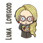 How to Draw Cute Chibi Luna Lovegood from Harry Potter in Simple Step by Step Drawing Tutorial
