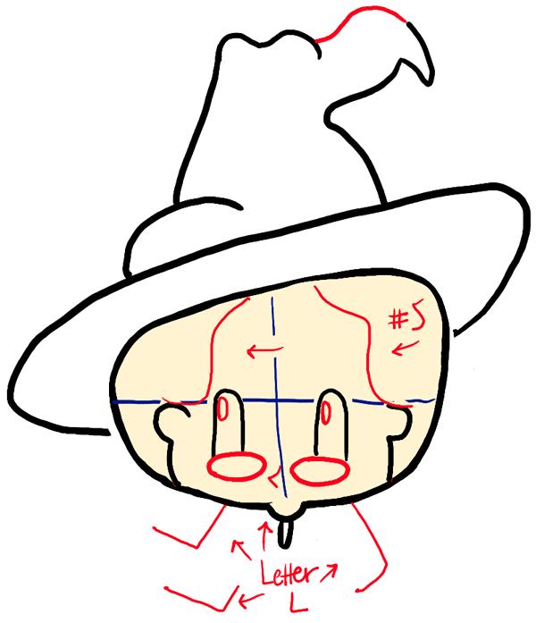 step04-how-to-draw-cute-professor-mcgonagall