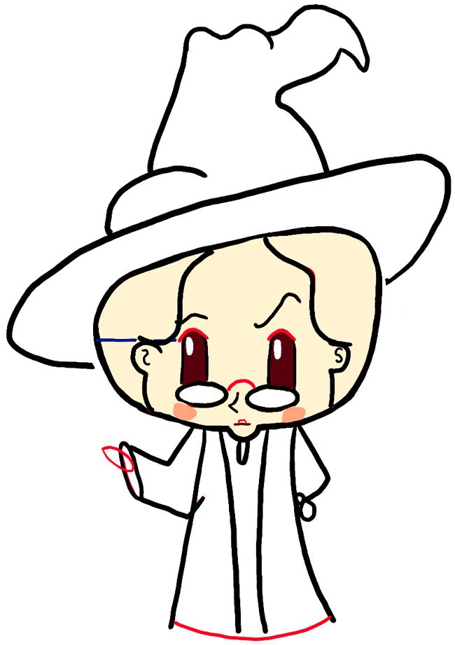 step06-how-to-draw-cute-professor-mcgonagall