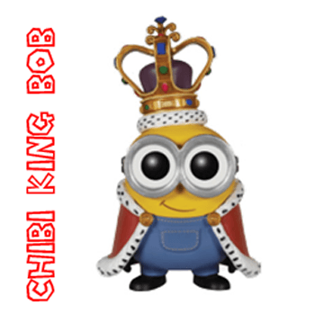 How to Draw Cute Chibi King Bob from The Minions Movie with Simple Step by Step Lesson