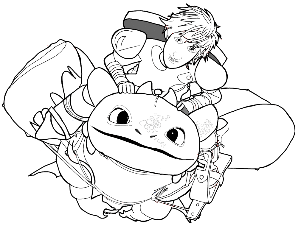 toothless coloring pages-#36