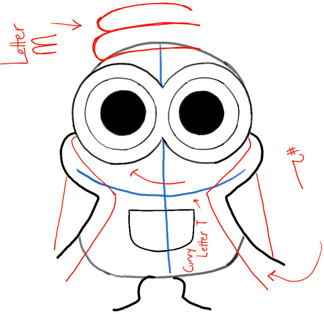 ... Minions Movie with Easy Tutorial - How to Draw Step by Step Drawing Despicable Me Minions Drawing Step By Step